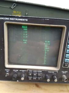 EX MOD SURPLUS MARCONI 2955 RADIO TEST SET USED WORKING CONDITION