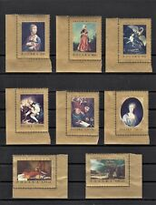 TIMBRE STAMP 8 POLOGNE Y&T#1660-67 ART PEINTURE NEUF**/MNH-MINT 1968 ~B55