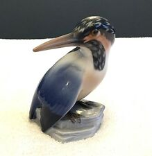 Bing & Grøndahl - Royal Copenhage 1619 Kingfisher Bird Figurine