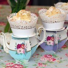 Individual Cupcake Stands Holder Wedding Party Decoration Plate Platform Tea