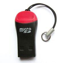 Micro SD/SDHC MEMORY CARD READER ADATTATORE USB 2.0 A * Nuovo di Zecca *