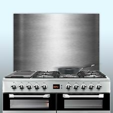 Brushed Stainless Steel Splashbacks Kitchen Cooker Hob Wall - Various Sizes!