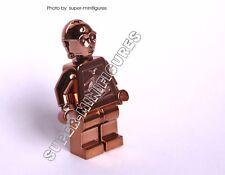 Lego C-3po Copper chrome star wars minifigure  (lego custom)