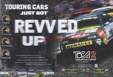 toca 2 Touring Cars 1999 Magazine 2 Page Advert #4238