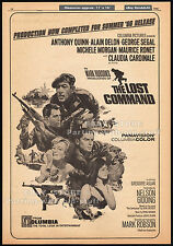 THE LOST COMMAND__Original 1966 Trade AD_poster__ANTHONY QUINN_CLAUDIA CARDINALE