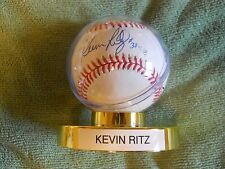 KEVIN RITZ AUTOGRAPHED SIGNED BASEBALL Pitcher Colorado Rockies, Detroit Tigers