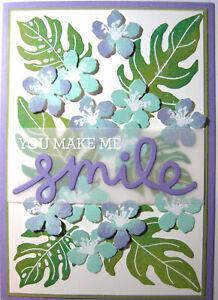 Handmade Card - You Make Me Smile