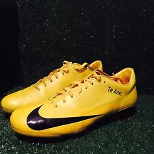 Match issued Nike Vapor Superfly Yellow Black II III I Mercurial match what the
