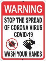 virus, wash hands, , sign, signage. Medical sign, warning PUBLIC SAFETY