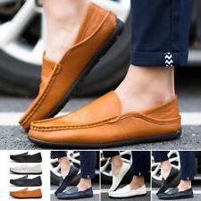 verano hombre conducción Informal Zapatos Náuticos Piel Sintética mocasin