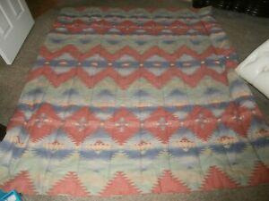 Ralph Lauren Aztec Rio grande Queen Comforter Dust Ruffle 2 Shams
