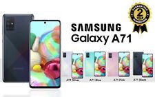 NEW SAMSUNG GALAXY A71 SM A715F DUAL SIM FREE 128GB 4G LTE UNLOCKED PHONE SEALED