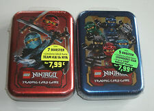 LEGO Ninjago serie 2 Trading Card Game-Mini Tin A + B NUOVO & OVP