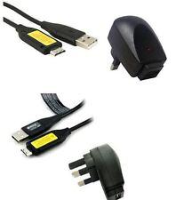 Cargador de pared y USB Cable Para Samsung PL10 PL100 PL120 PL150 PL170 PL20 PL121