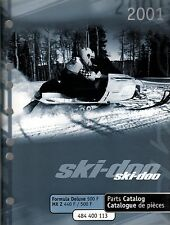 2001 SKI-DOO FORMULA DELUXE 500 F,MX Z 440 F PARTS MANUAL P/N 484 400 143  (207)