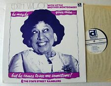 Edith WILSON He may be your man... USA LP DELMARK Rds (1976)  NMINT