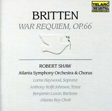 War Requiem - B. Britten (2004, CD NIEUW) Haywood/Johnson/Luxon