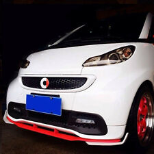 Brabus Style Front Bumper Diffuser spoiler Protector Trim For BENZ Smart FORTWO
