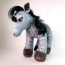 Build a Bear Grey Dapple Large Soft Plush Toy Horse Appaloosa Hearts and Horses