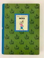 VTG WALT DISNEY'S AMERICA BOOK 1965 Uncle Remus Brer Rabbit Tar Baby Old Yeller