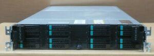 Intel EMC PHBOP ECS U300 4-Node 16-Bay + 4x S2600JF 2x E5-2620 32GB Ram Nodes