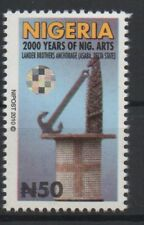 Nigeria 2010 Mi. 848 WITH circular hologram Definitive 2000 years Art RARE!