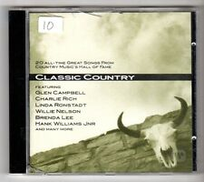 (GY283) Various Artists, Classic Country, 20 tracks - 1995 CD