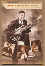 American Roots Music (B.B. King, Woody Guthrie) RARE promo postcard '01
