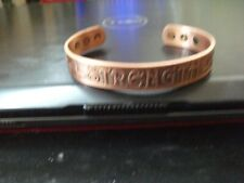 STRENGTH 6 MAGNET COPPER THERAPY BRACELET