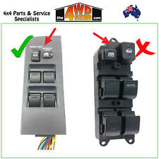 Window Master Switch Control suit 80 Series Toyota Landcruiser EWS9380
