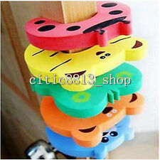 5X Kid Baby Jammers Stop Door stopper lock Safety Pinch Guard Finger Protector C