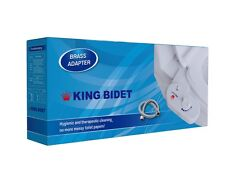 King Bidet Cold Toilet Seat Attch Angle Adjustment (2Yr Warranty) USA Wholesaler