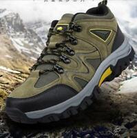 New Men's Hiking Shoes Outdoor Trail Trekking Sneakers Mountain Climbing Shoes@