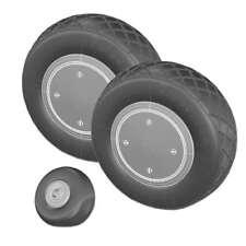 P-40 Warhawk Super Detail Wheel Set (1/48 True Details 48215)