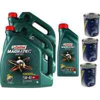 11L Olio Motore Castrol Magnatec Diesel 5W-40 DPF 3xMotor Dottore