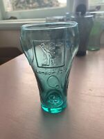 Coca Cola Glass 2012 London Olympics *Basketball *Aqua Green