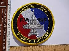 Military Aviation Patch US Navy VF-2 Bounty Hunters F/A-18 Hornet Squadron