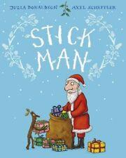 Stick Man New Hardcover Book Axel Scheffler