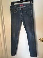 Womens LEVIS 524 TOO SUPERLOW STRETCH blue denim jeans Size 5M