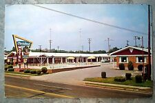 Vintage Crossland Motel - Bowling Green, Kentucky Postcard