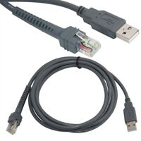 USB Cable 2M for Symbol Barcode Scanner LS2208 AP LS4208 DS9208 LS3408 SKY