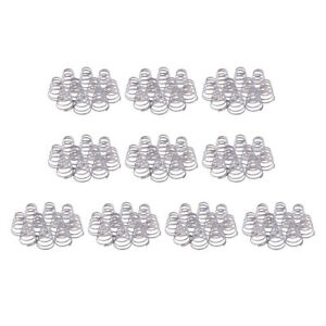 100Pieces Bicycle Replacement Spring Stainless Steel Springs Parts Quick Release