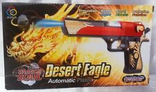DRAGON SOUL Esercito Commando MACHINE GUN PISTOLA CON LUCI PIC e suoni bambini giocattolo