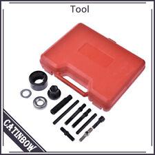 13Pcs Pulley Puller&Installer Kit Power Steering Pump Alternator AC Remover Tool