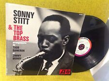 Rare LP SONNY STITT & THE TOP BRASS - french press BIEM ATLANTIC 432067