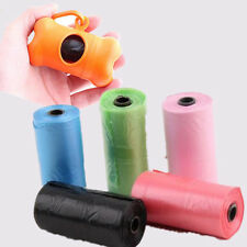 50 Rolls Eco-friendly Dog Poop Portable Poo Scoop Waste Bags Roll Doggie Clean