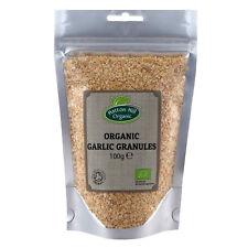 Organic Garlic Granules 100g Certified Organic