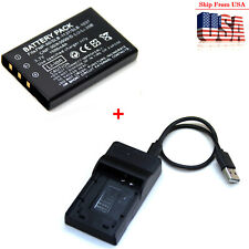 1500mAh Battery / Charger For Kodak EasyShare P712 P850 P880 Z730 Z7590 Z760