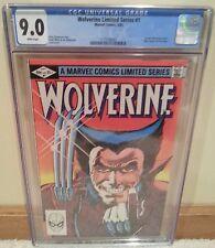 Wolverine #1 CGC 9.0 1st Wolverine Yukio Claremont Miller Logan Movie 2016 Case