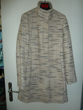HUGO BOSS Orange - Trendy Damen Woll Mantel  Gr. 36 (38) beige/grau Zebra Animal